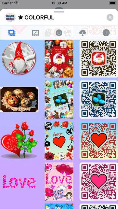 Colorful Stickers and Emoji screenshot 4
