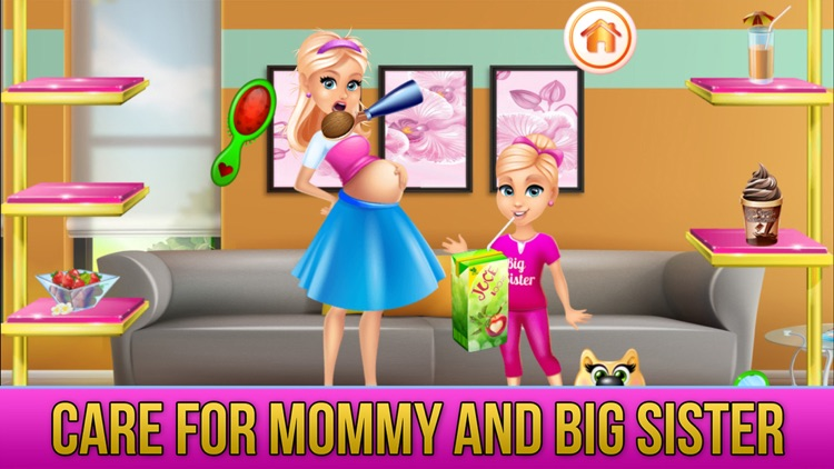 New Baby Sister Makeover Game screenshot-6