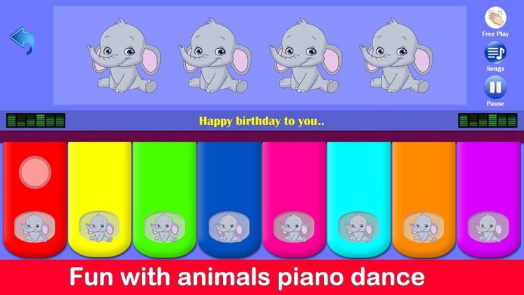 Kids Piano Animals screenshot-4