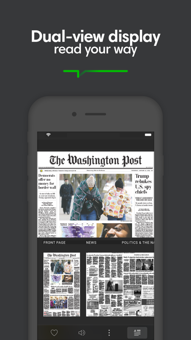 Screenshot for PressReader in New Zealand App Store