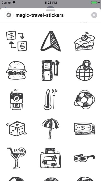 Magic Travel Stickers screenshot-3