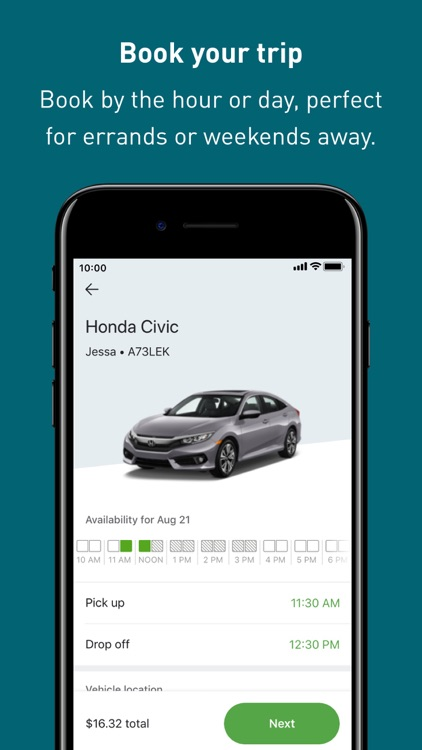 Zipcar: cars on-demand screenshot-3