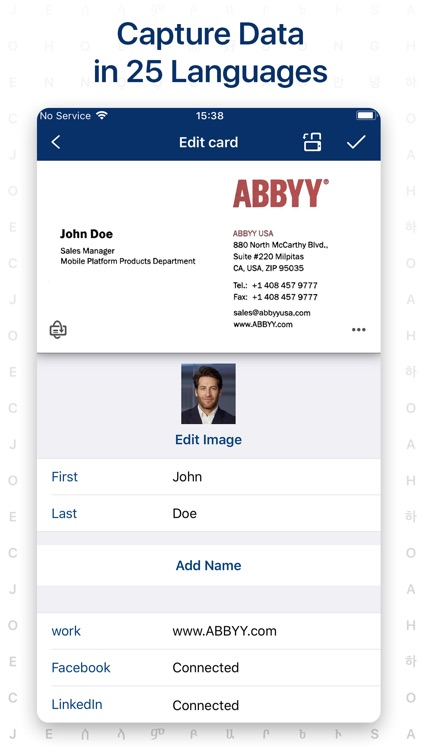 ‎Business Card Scanner