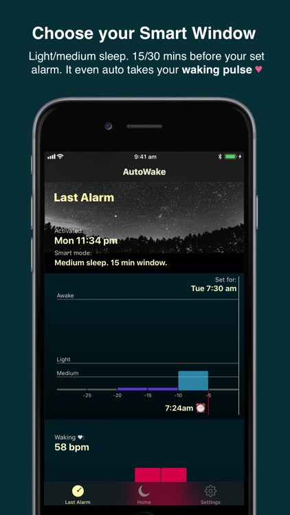 AutoWake. Smart Sleep Alarm screenshot-5