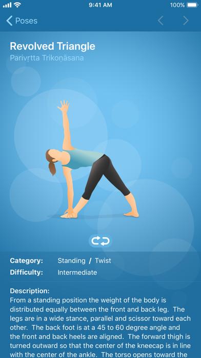 Pocket Yoga review screenshots