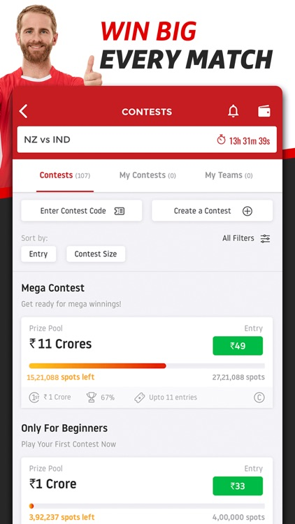 Dream11 Fantasy Sports screenshot-3