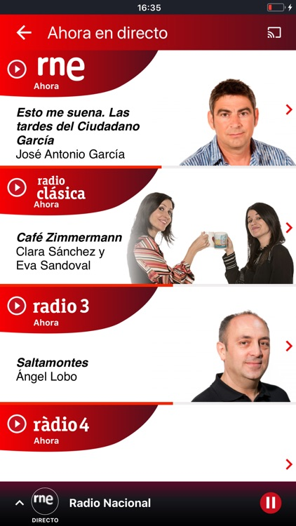 Radio Nacional de España screenshot-2