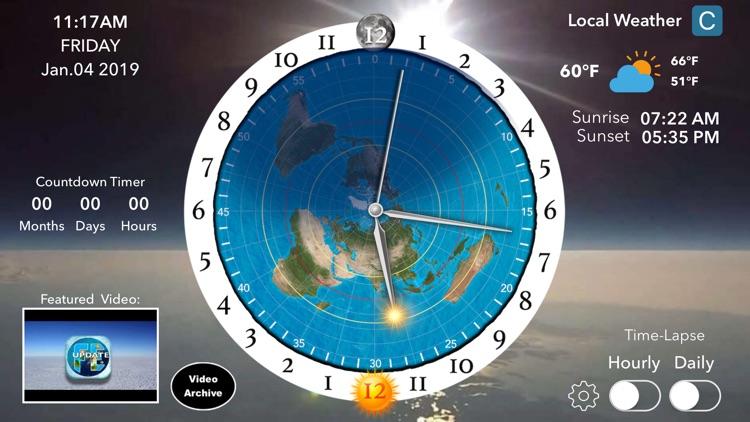 Flat Earth Sun, Moon & Zodiac screenshot-3