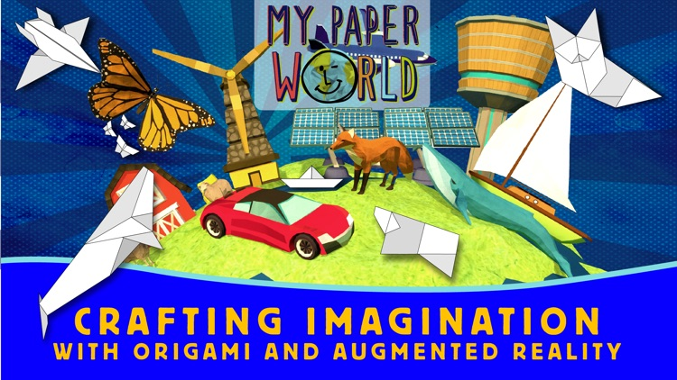 My Paper World - AR origami