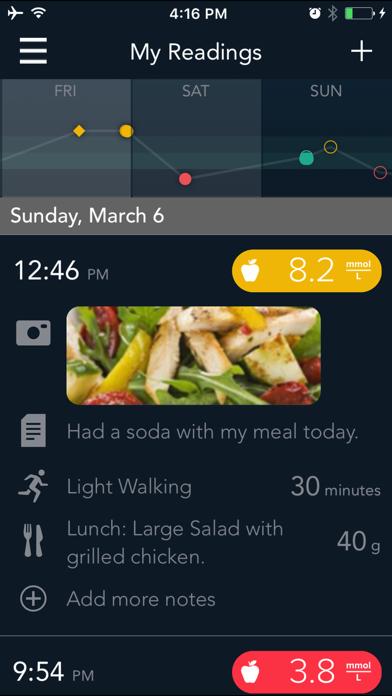 CONTOUR DIABETES app (UK) screenshot four