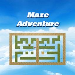 Maze adventure game