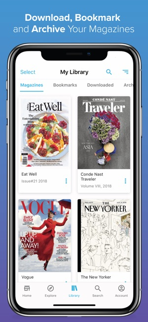 ZINIO - Magazine Newsstand on the App Store
