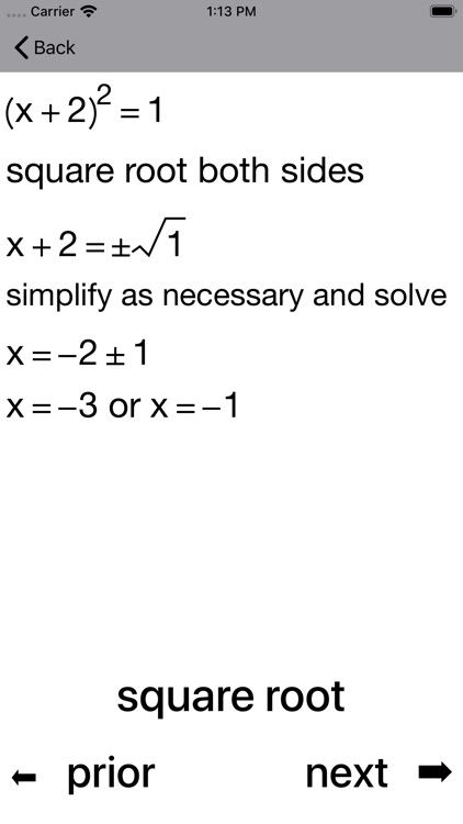 Quadratic Equations screenshot-3