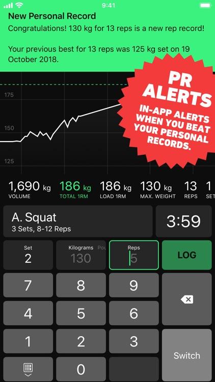 HeavySet - Gym Workout Log screenshot-5