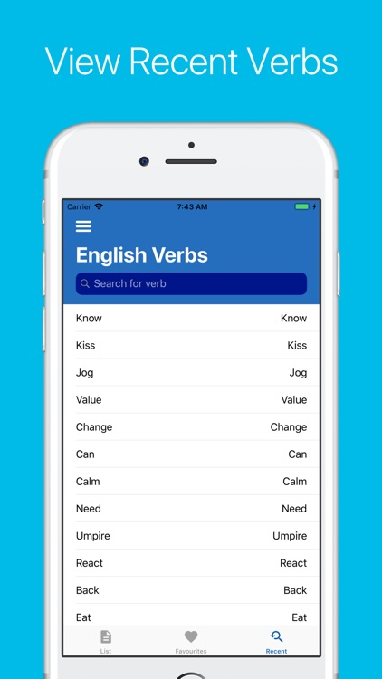 English Verb Conjugator screenshot-4