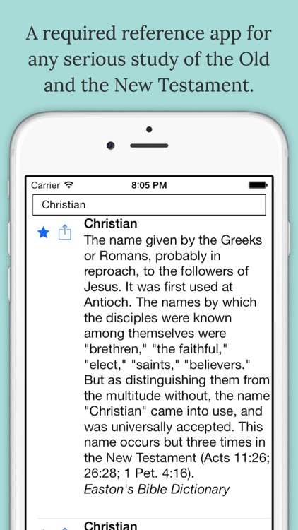 The Bible Dictionary®