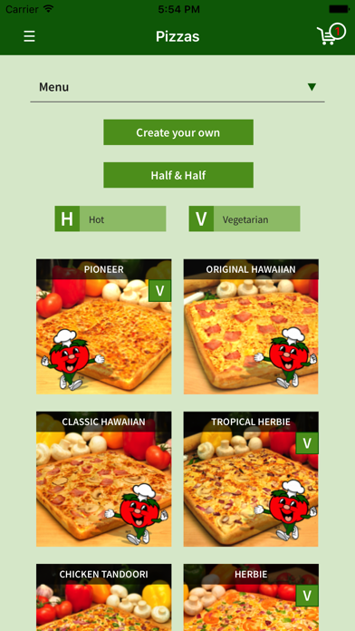 Snappy Pizza screenshot two