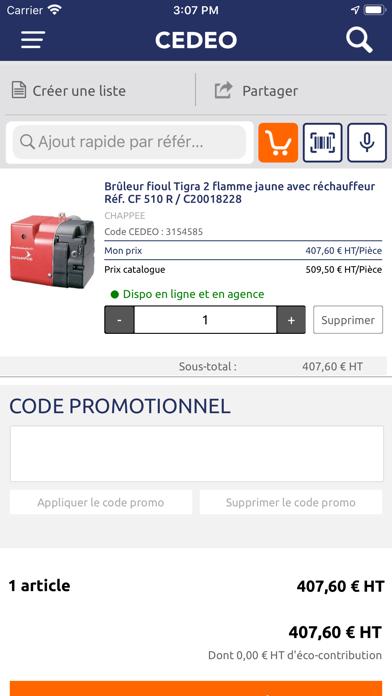 Screenshot #3 pour CEDEO