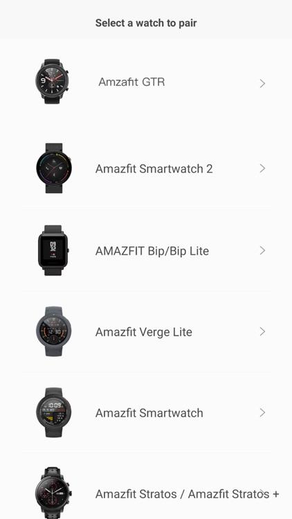 Amazfit Watch screenshot-4