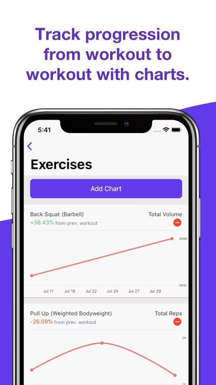 Liftify - Workout Gym Tracker screenshot-3