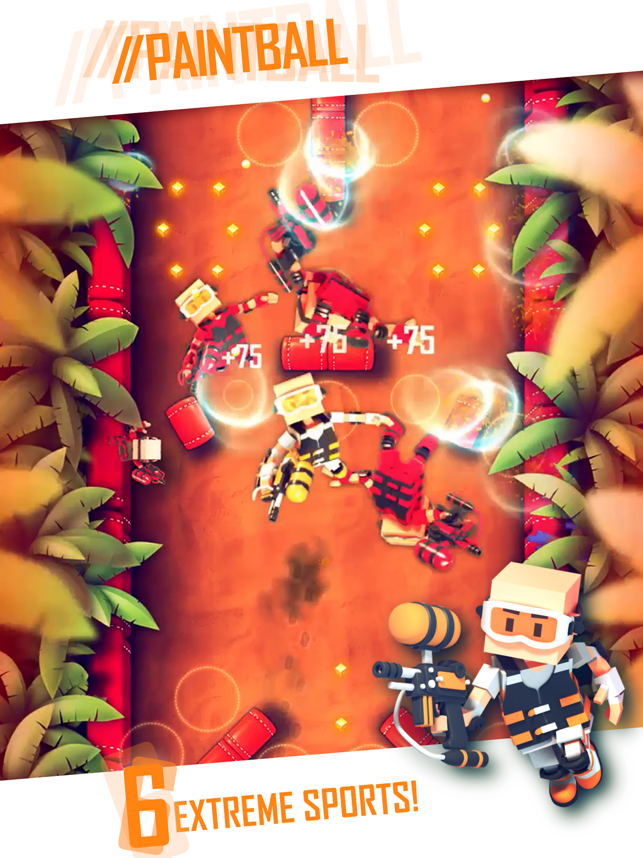 ‎Flick Champions Extreme Sports Screenshot