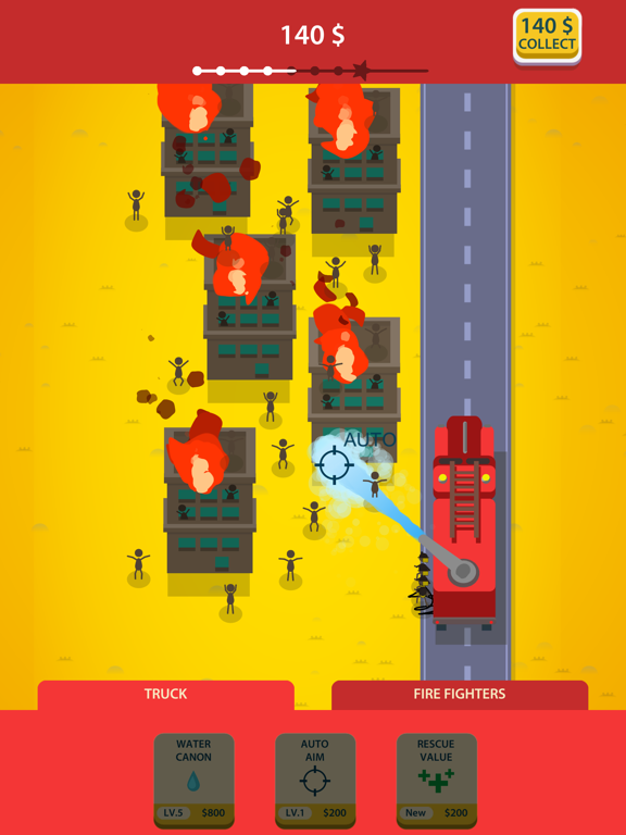 Idle Firetruck screenshot 8