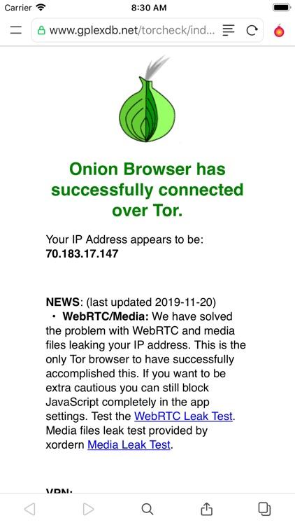 Red Onion II: TOR Web Browser