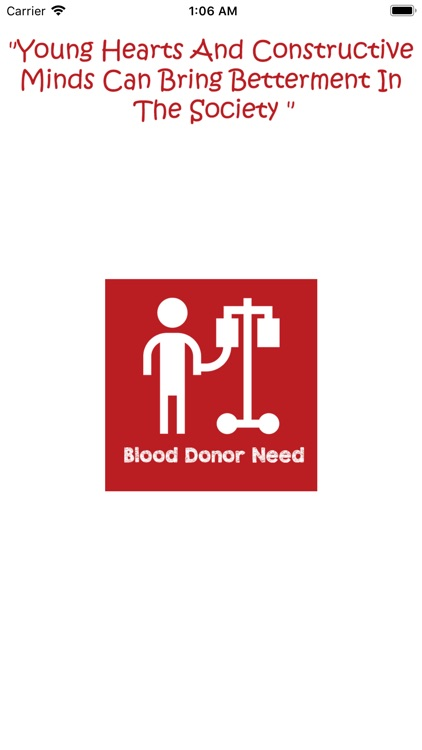 BDN-Blood Donor Needs