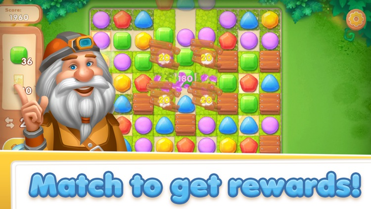 Gem Crush - Match 3 Puzzle