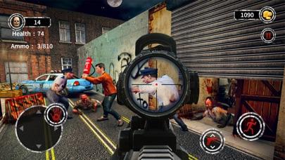 Dark City Zombie Shooting 3D screenshot 7