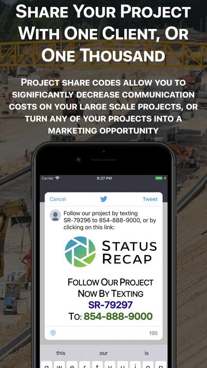 Status Recap Project Platform screenshot-4