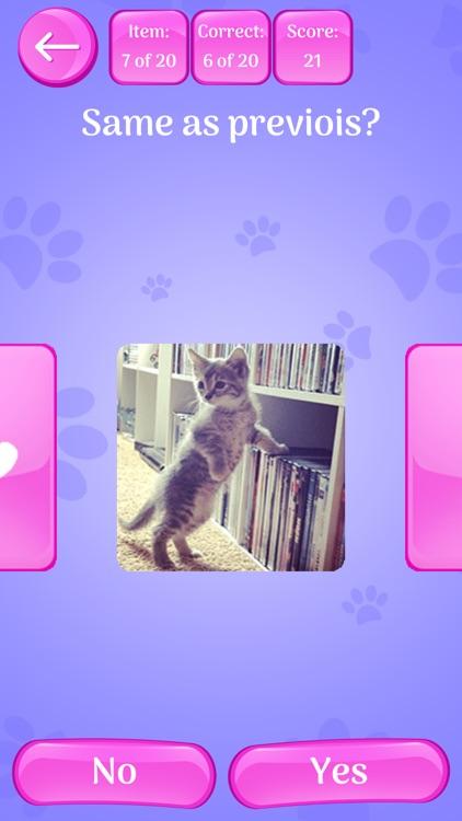 Cute Cats Memory Match Game screenshot-4