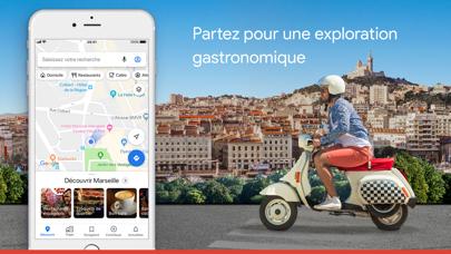 Google Maps - GPS & transports sur pc