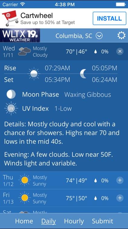 WLTX Weather