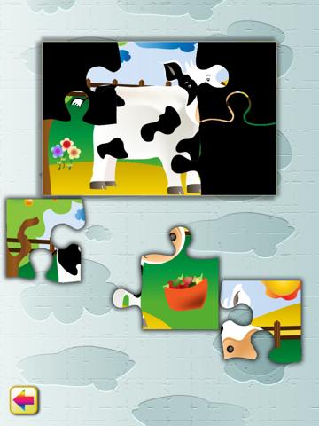Animal Jigsaw Puzzle: Farm - náhled