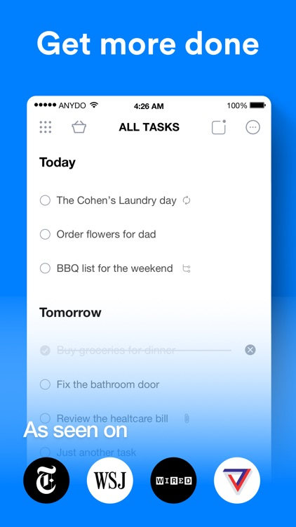 Any.do: To-do list & Tasks