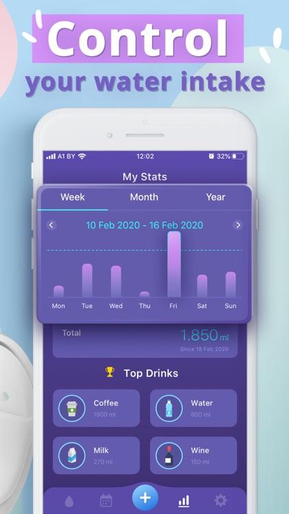 My Water - Daily Water Tracker screenshot-3
