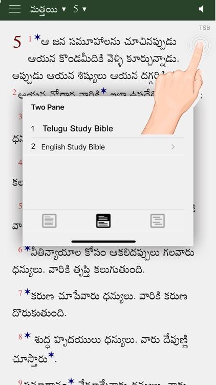 Telugu Study Bible GM