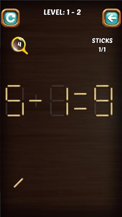 Math Match Stick Puzzle screenshot-8