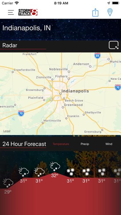 WISH-TV Weather screenshot-5