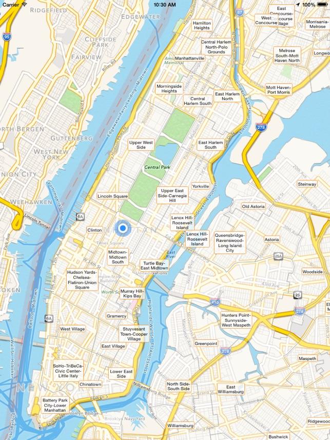 Nyc Tourist Map Im App Store