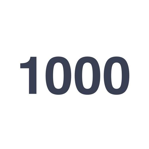 1000時間