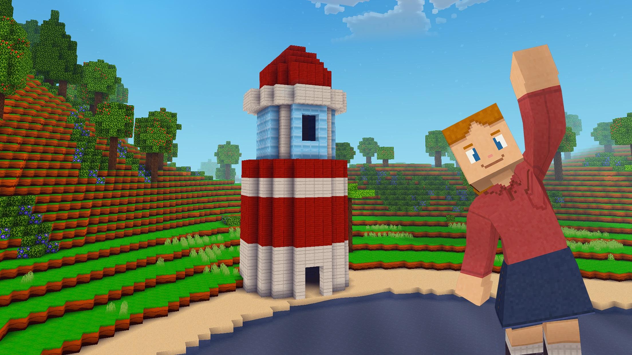 Block Craft 3D: Building Games Screenshot