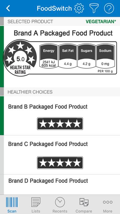 FoodSwitch UK screenshot three