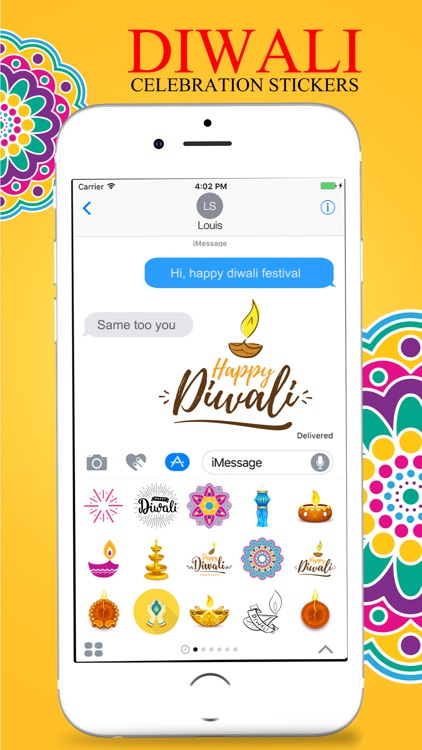 Diwali Stickers pack screenshot-4
