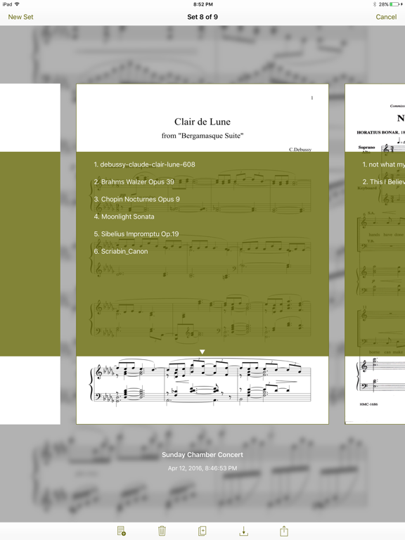 NextPage 3 Sheet Music Reader screenshot three