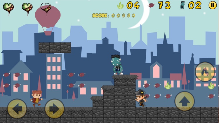 Zombie Gang: Escape from Earth screenshot-4