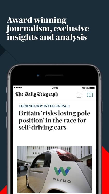 Telegraph Newspaper Edition UK screenshot-7