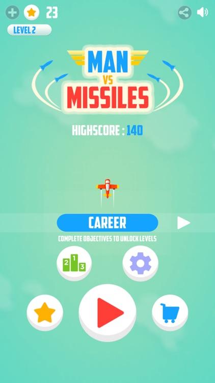 Man Vs. Missiles screenshot-0
