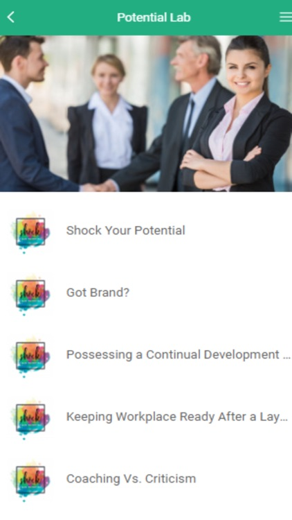 Shock Your Potential